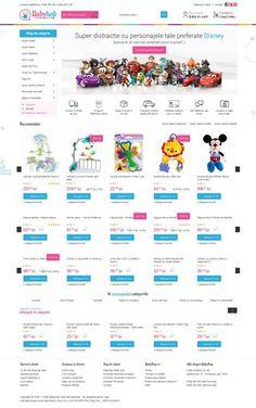 screenshot of babyhop. Website Analysis, Seo, Social Media, Social Networks, Social Media Tips