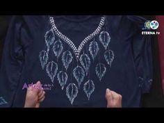 Blusa Otoñal   Rosana Ovejero en Artez TV - YouTube