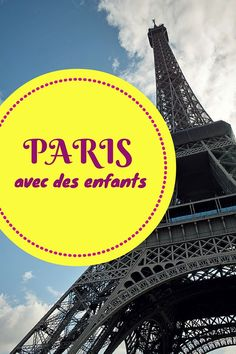 Activity ideas to do with kids in Paris and how to enjoy family travel in the capital of France. Traveling With Baby, Travel With Kids, Family Travel, Paris Tips, Paris Travel Tips, Disneyland Paris, Paris Hidden Gems, Tour Eiffel, Paris France
