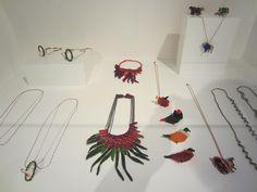 """Exposition """"Bijoux en résidence"""" jusqu'au 9 novembre 2013 - Bijoux de Sophie Dalla Rosa"""