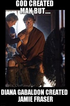 God created man but Herself created #Jamiefraser  pic.twitter.com/8KEoQO1anZ