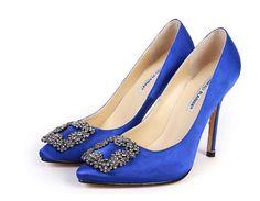 Blue shoes (for bride)