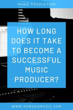 Thinking of becoming a music producer but unsure how long it will take to become successful? Or maybe you already are making music, but aren't seeing the results you want. This post will help push you to keep going! Music Desk, Basic Guitar Lessons, Festival Guide, Music Promotion, Music Industry, Electronic Music, New Music, Hard Rock, Music Artists