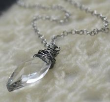 Ice Crystal necklace Ice Crystals, Girls Best Friend, Crystal Necklace, Necklaces, Diamond, Silver, Jewelry, Jewlery, Jewerly