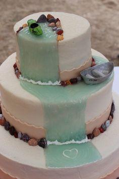 kayak (birthday!) cake ideas