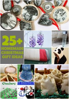 25+ Homemade Christmas Gift Idea Roundup - organized by the person the gift is for (mom, dad, kids...) | mommyenvy.com