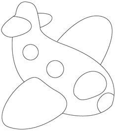 plane plane Coloring pages Applique Templates, Applique Patterns, Applique Quilts, Applique Designs, Colouring Pages, Coloring Pages For Kids, Coloring Sheets, Coloring Books, Drawing For Kids