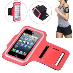 Sport Armband Case for iPhone5 Waterproof Double Buttonhole