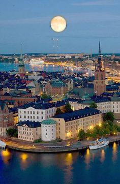 stockholm, sweden - the capital of sweden + my homeland where all of my family originated from, where half of my cousins love, and where i lived for three years ;)