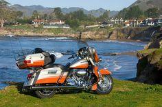 Harley Davidson CVO Ultra Classic Electra Glide.