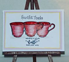 Bad Kitty's Craftroom: thank you card