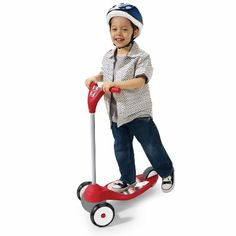 Amazon.com: Radio Flyer My 1st Scooter, Red: Toys & Games