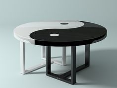 yin-yang table 3d max - Yin Yang Table... by geimers