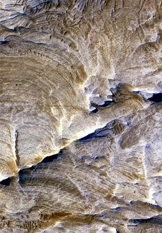 Underground Plumbing System Discovered on Mars The upper-most layers of rock in many areas of Valles Marineris on Mars have been stripped away by erosion, providing a glimpse of the subsurface that was once buried deep underground.