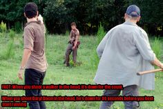 The Walking Dead Season 2 Episode 5 - Chupacabra, Rick Grimes (Andrew Lincoln), Daryl Dixon (Norman Reedus) and Shane Walsh (Jon Bernthal) The Walking Dead 2, Walking Dead Season, Daryl Dixon, Daryl Twd, How To Start Running, Stuff And Thangs, Episode 5, Norman Reedus, Best Shows Ever