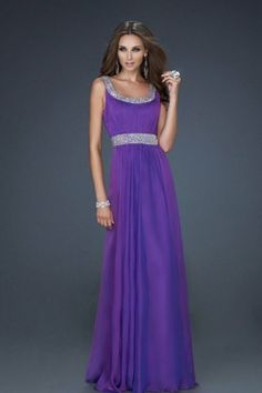 purple prom dress #long