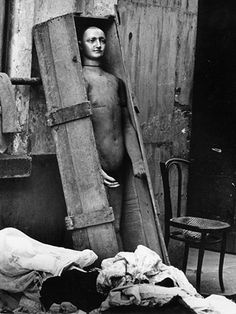 Christer Strömholm - Doll In A Box, Paris, Late 1950's