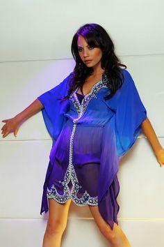 silk beaded sequin kaftan, tunic, dress, swimwear, swim cover up, cruise wear