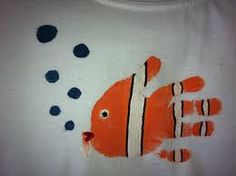 clown fish-under the sea crafts...this would be an awesome gift for the girls' papa!!!