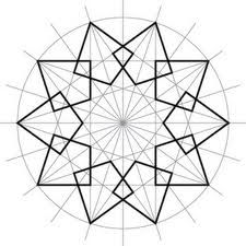creating geometric patterns in needlepoint Geometric Patterns, Geometric Designs, Textures Patterns, Geometric Shapes, Islamic Designs, Islamic Art Pattern, Pattern Art, Geometry Art, Sacred Geometry