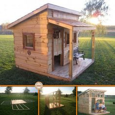 Here's a project the kids will surely enjoy! Learn how to make a kids fort from old fence boards by viewing the full album at http://theownerbuildernetwork.co/u2vs Would your kids love this?