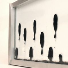 Zelf Koelman's Ferrolic clock uses magnetic ferrofluid to tell the time