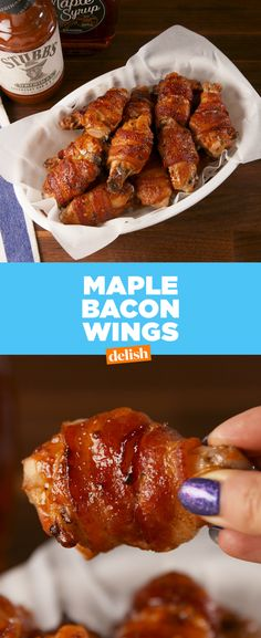 Maple Bacon Wings >>> All Other Wings