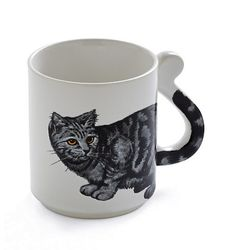 Awesome cat coffee cup!