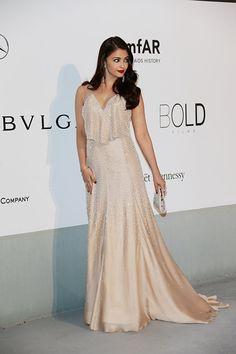 L'Oreal Paris brand ambassador Aishwarya Rai Bachchan at the amfAR Gala (Pic: L'Oreal Paris)