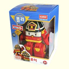 #Roy #RobocarPoli #Transformation #Robot Korean TV Animation Academy Gift Car #Toy