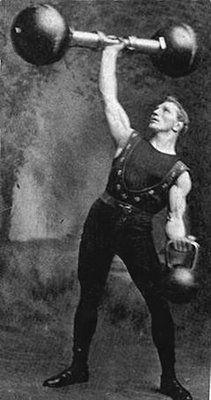 Vintage Bodybuilding. (Looks like vintage strongman to me.)