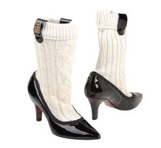 Boots that look like shoes with attached socks