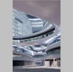 Zaha Hadid en Pekín: complejo Galaxy Soho