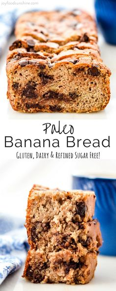 The very best Paleo Banana Bread ever! Easy to make, super healthy and crazy delicious! Gluten free, dairy-free, and refined sugar free!