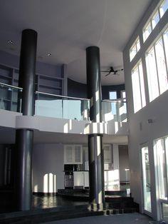 Contemporary Mansion - interior (great room)