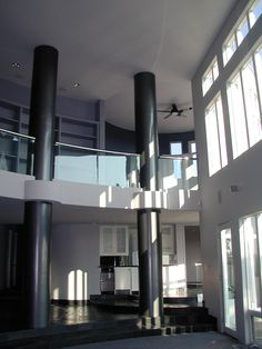 Contemporary Mansion - interior (great room)