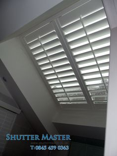 Velux Shutters or Sky light Shutters are becoming a very popular choice over traditional blinds, they look great and add a lot of insulation.