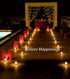 Proposal idea. Candle light dinner . Decor #believehappenings #dateplanners #weddings #themeweddings #themeweddingsinudaipur #dates #love #themes #themeparties #udaipur #events #eventplanners #decor