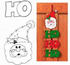 Colgantes navideños hechos con foami o goma eva - Dale Detalles