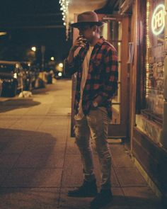 http://chicerman.com  billy-george:  Love this look  #streetstyleformen