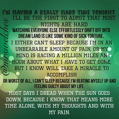 Anyone else hate bedtime? www.facebook.com/mrswelcheswarriors #spoonie #chronicillness