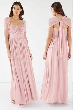 Buy Lipsy Bella Bandeau Maxi Dress from the Next UK online shop Wedding Planer, Bridesmaid Dresses, Wedding Dresses, Bridesmaids, Lipsy, Outfit, Design Inspiration, Bandeau, Uk Online