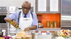 Al Roker's recipe for beer can chicken with mixed root vegetables
