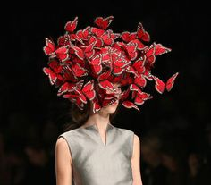 Hat dedicated to Isabella Blow