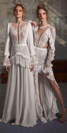 Lior Charchy Fall 2018 Wedding #weddingdress #weddinggown #bridalgown #weddinggowns