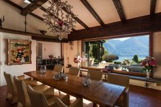 Dining Room With Stunning Views