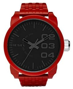 Diesel large face watch