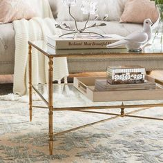Love the idea of a glass coffee table. Not sure if the surfboard coffee table we have will a) match (cause of the wood color) and b) be too big for a smaller couch Coffee Table Styling, Diy Coffee Table, Coffee Table With Storage, Decorating Coffee Tables, Plywood Furniture, Design Furniture, Design Lounge, Design Loft, Table Ikea