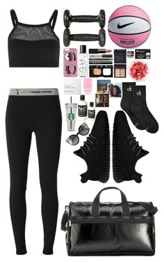"""""""Mercy"""" by vanessasimao1999 ❤ liked on Polyvore featuring FRUIT, T By Alexander Wang, adidas Originals, LeSportsac, Calvin Klein, Nails Inc., Chiara Ferragni, NARS Cosmetics, Topshop and Fendi"""