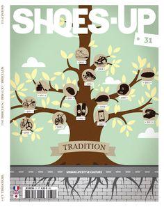 Tree of sneakers